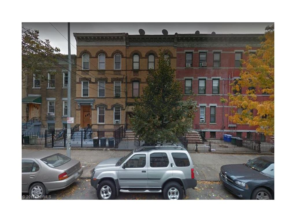 Multi-Family Home for Sale at 248 Saint Nicholas Avenue 248 Saint Nicholas Avenue Brooklyn, New York 11237 United States