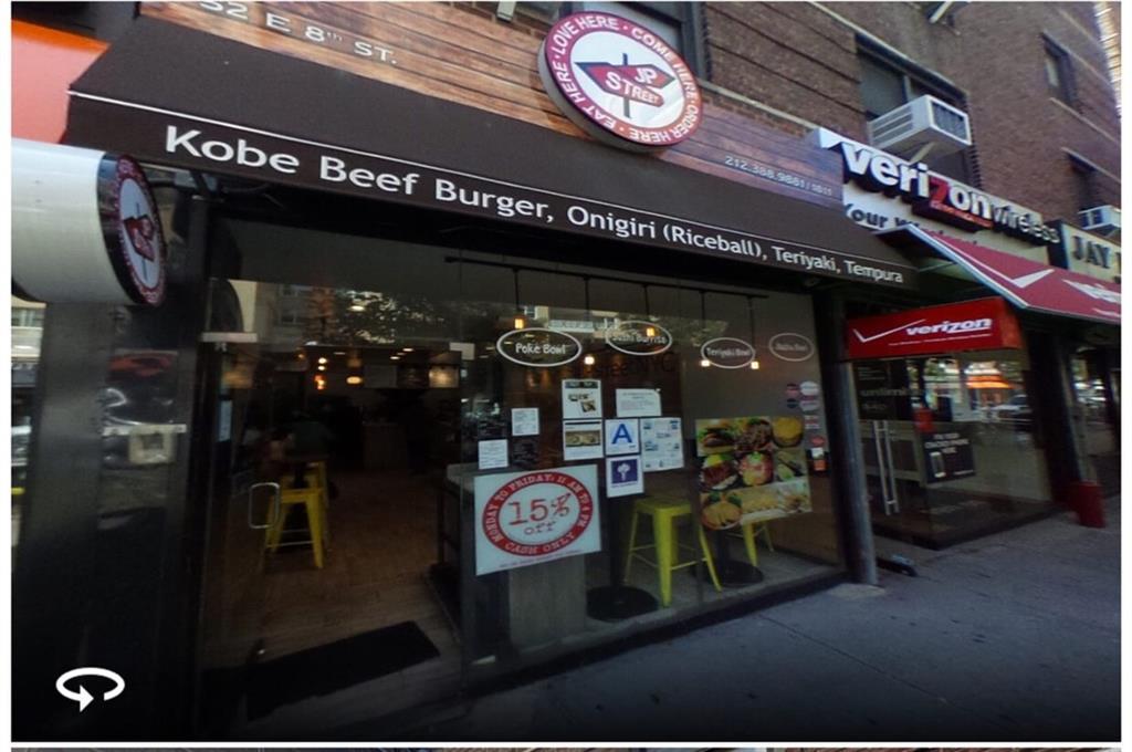 52 East 8 Street Greenwich Village Brooklyn NY 10003