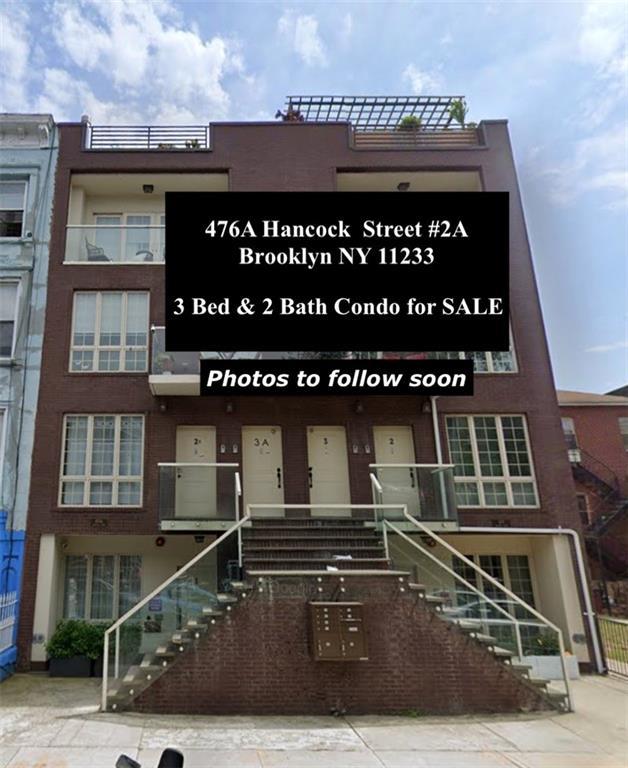 476A Hancock Street Bedford Stuyvesant Brooklyn NY 11233